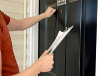 Door to door sales