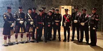 ceremonial guard volunteers