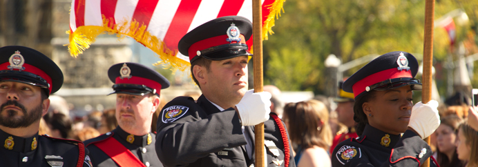 Ottawa Police Colour Party