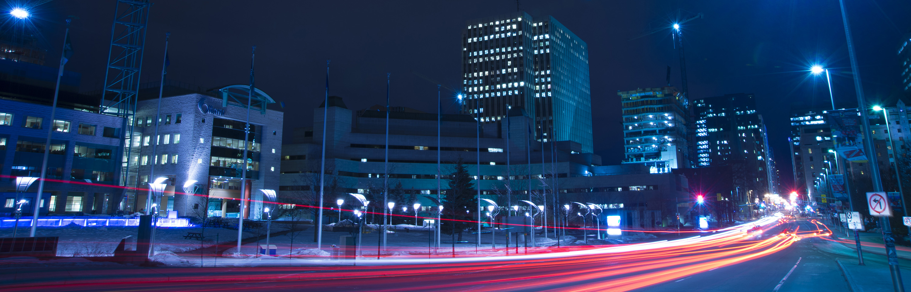 Photo of Ottawa at night - View our Business plan