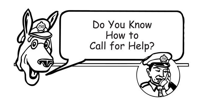 Do you know how to call for help?